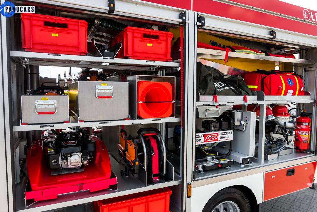 zabudowa wozu strażackiego iveco