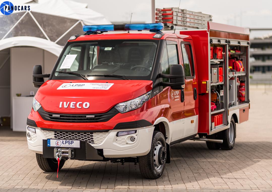 wóz strażacki iveco - LPSP.pl