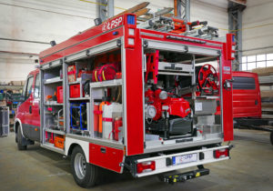 lekkie wozy strażackie