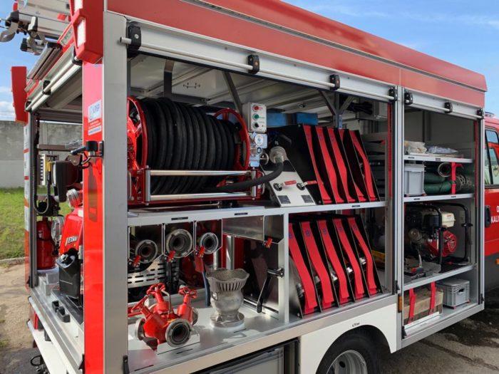 samochody strażackie lekkie