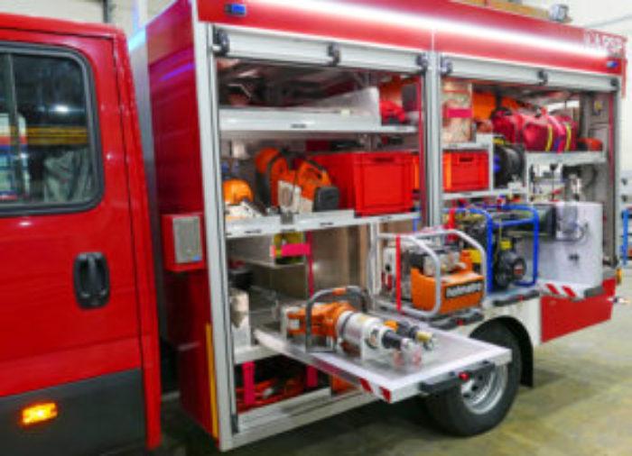 zabudowy strażackie
