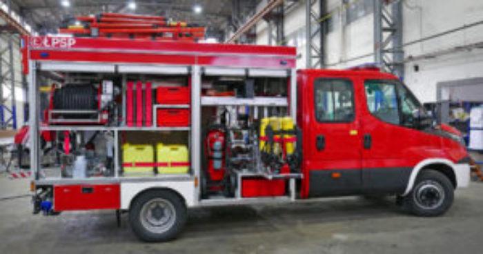 zabudowy samochodów pożarniczych